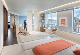 san francisco blue and cream bedroom with contemporary area rugs modern bay architect white rug