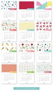 2017 printable free calendar