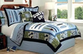 kid quilt set boys quilt bedding sets surf wave quilt boys bedding set queen full or kid quilt set boy bedding