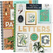 wall art letters by lizzy dee