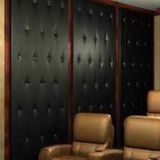 home theater acoustic wall panels. \u0027tuck and roll\u0027 acoustical wall panels home theater acoustic c