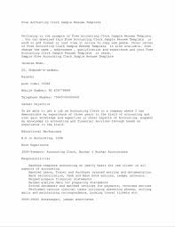 Fine Resume Accounting Assistant Administrative Pictures