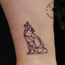 волк в графике сделано в Inkfactory