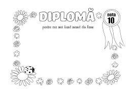 Diploma Pentru Cea Mai Buna Mama Children 8 Martie Certificate