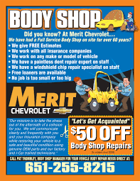 Parts Direct Coupon St Paul Body Shop Coupon Merit Chevy Body Shop In Maplewood