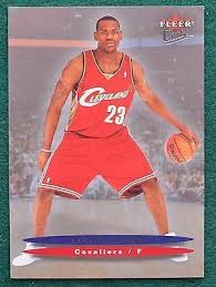 lebron james rookie card. awesome lebron james rookie card - 2004 ultra cleveland cavaliers mvp rc for sale view lebron