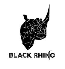 Black Rhino Design Playful Modern Fitness Logo Design For Black Rhino By