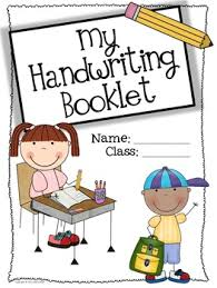 Writing A Title Page Free Handwriting Booklet Title Page