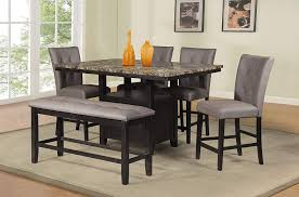Amazoncom Best Quality Furniture D111chset6pc 6pc Counter Height