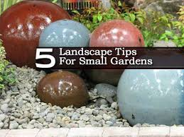 Small Picture 5 Landscape Gardening Tips For Small Spaces