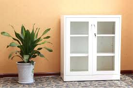small cabinet with glass doors high gloss white small cabinet with glass doors steel cabinet with