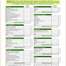Monthly Household Budget Template Thebridgesummit Co Intended For