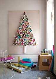 Unique Christmas tree using PVC pipe, as well as a decoration on the wall  of the house. Add some cute embellishments to it, and the Christmas tree  really ...