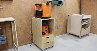 dewalt planer stand. build a mobile shop stand \u2013 planer dewalt p