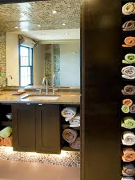 For Small Bathrooms 12 Clever Bathroom Storage Ideas Hgtv