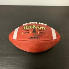 new wilson k2 leather game ball