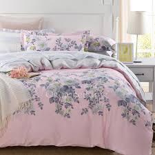 pink comforter sets queen size elegant fl cotton ogb14112204 9