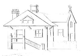 Houses Coloring Pages Free House Coloring Pages Gingerbread Houses