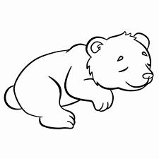 Schattige Panda Kleurplaat