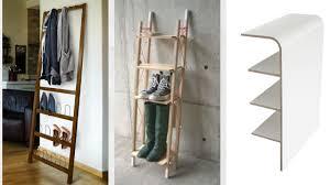 wall leaning shoe rack ladder shoe rack