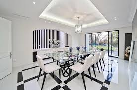 modern mansion dining room. Harrow House \u2013 A 19,500 Square Foot Newly Built Modern Mansion In Johannesburg, South Africa Dining Room