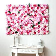 flower wall decor imposing design wall decor fl silk flower wall decor flowers all over gulf flower wall decor