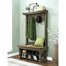 Entry Hall Coat Rack Narrow Shoe Cabinet Entryway Front Hall Shoe Storage Best Hall Tree 19