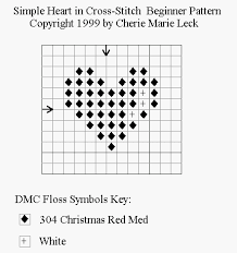 Free Cross Stitch Charts For Beginners Learn To Cross Stitch At Www Craftdesigns4you Com