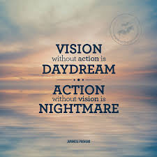 Quotes About Vision Cool Great Action Quote Picture Action Without Vision Is Nightmare