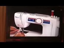 White Jeans Machine Sewing Machine