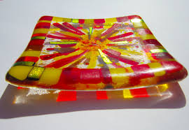 Small Decorative Plates Decorative Plates Peace Of Glass