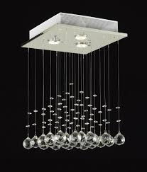 jac d lights j10 c9071s 3us modern rain drop lighting crystal ball fixture pendant chandelier 18 by 12 inch com