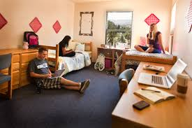 students in a canada hall room