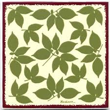 art tile designs. Unique Tile Botanical Design As A Tile Trivet Or Wall Plaque Can Be Used In To Art Tile Designs P