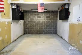 how to fix garage floor
