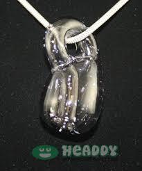 Elevate Glass klein bottle pendants