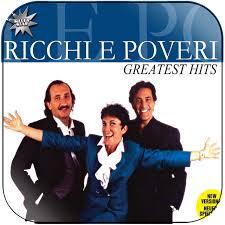 Ricchi e poveri - greatest hits Album Cover Sticker Album Cover Sticker