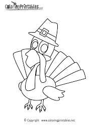Happy Thanksgiving Coloring Page A Free Holiday Coloring Printable