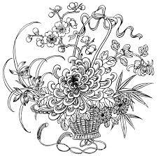 お花植物編ぬりえ大人の塗り絵イラスト画像リンク集 お花