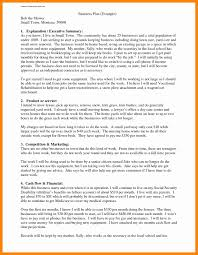 Unique One Page Business Plan Template Www Pantry Magic Com