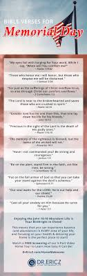 21 Bible Verses For Memorial Day