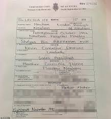 Xxxtentacion Birth Chart 21 Savages Birth Certificate Proves He Was Born In England