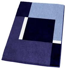 dark navy blue bath rugs: machine washable navy blue bathroom rugs extra large contemporary bath mats