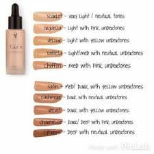Younique Shade Chart Younique Satin Foundation For Sale Ebay