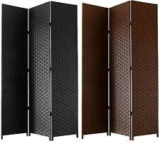 free standing screen.  Screen Free Standing Folding Woven Paper Screen 3 Section Decorative Room Divider  172m Intended