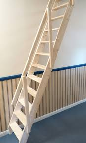 Folding Staircase Loft Ladder Ideas Cypress Simple And Neat Home Interior Design