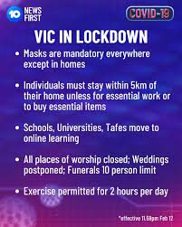 Lockdown officially began in victoria after new restrictions came into effect overnight. Ncr5zytzjspp3m