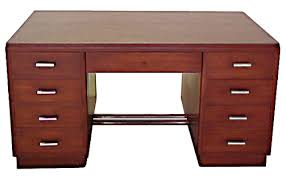 nice sized home desk or for an office with a moderne environment art deco art deco furniture art deco office furniture
