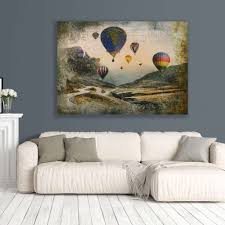 art boja large canvas prints wall art featuring air balloons on wall art canvas picture print with order your custom canvas prints online today artisanhd