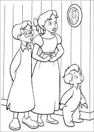 Peter Pan Kleurplaten 44 Disney Pinterestpeter Pan Kapitan Haken